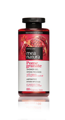 Гель для душа MEA NATURA POMEGRANATE