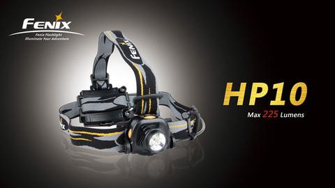 Фонарь налобный HP10 (Cree Q5, 225 лм, 4хАА)