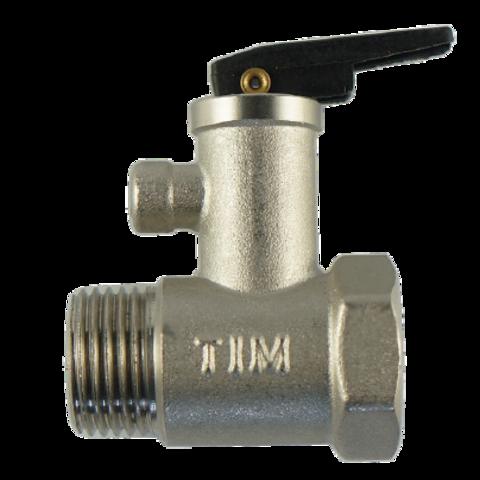 Предохранительный клапан для водонагревателя Tim 7 bar