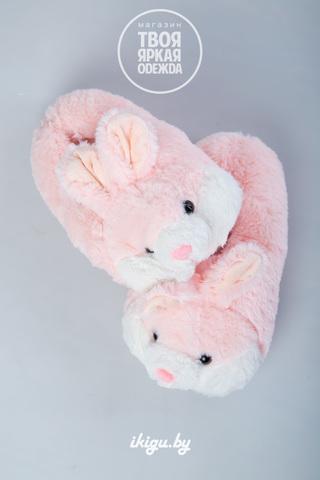 """Тапочки """"Кролики Нежно - Розовые"""""""