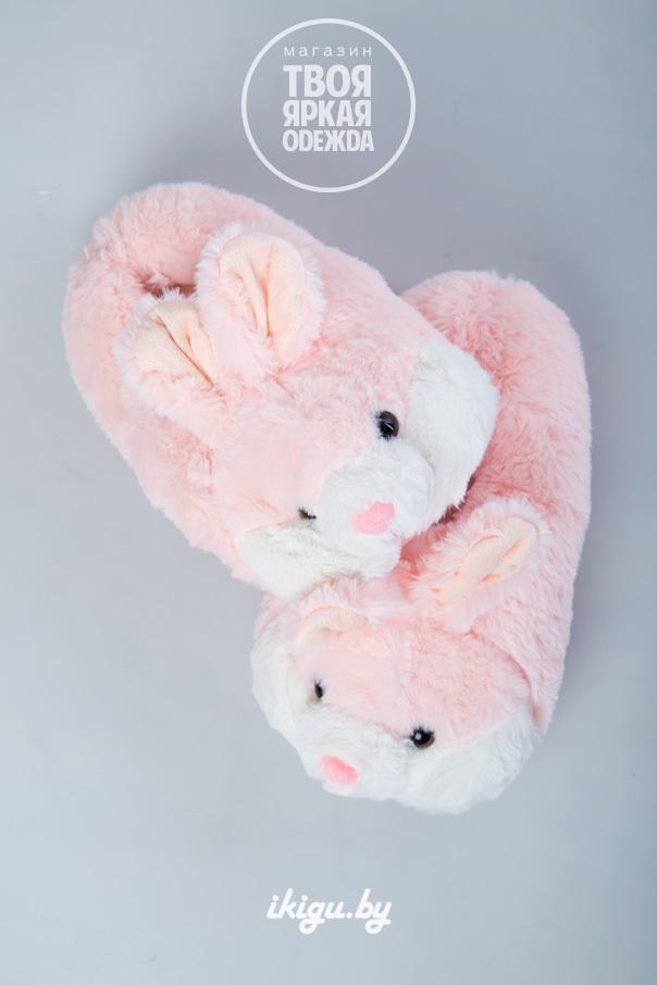 "Тапочки Тапочки ""Кролики Нежно - Розовые"" zaiki_roz.jpg"