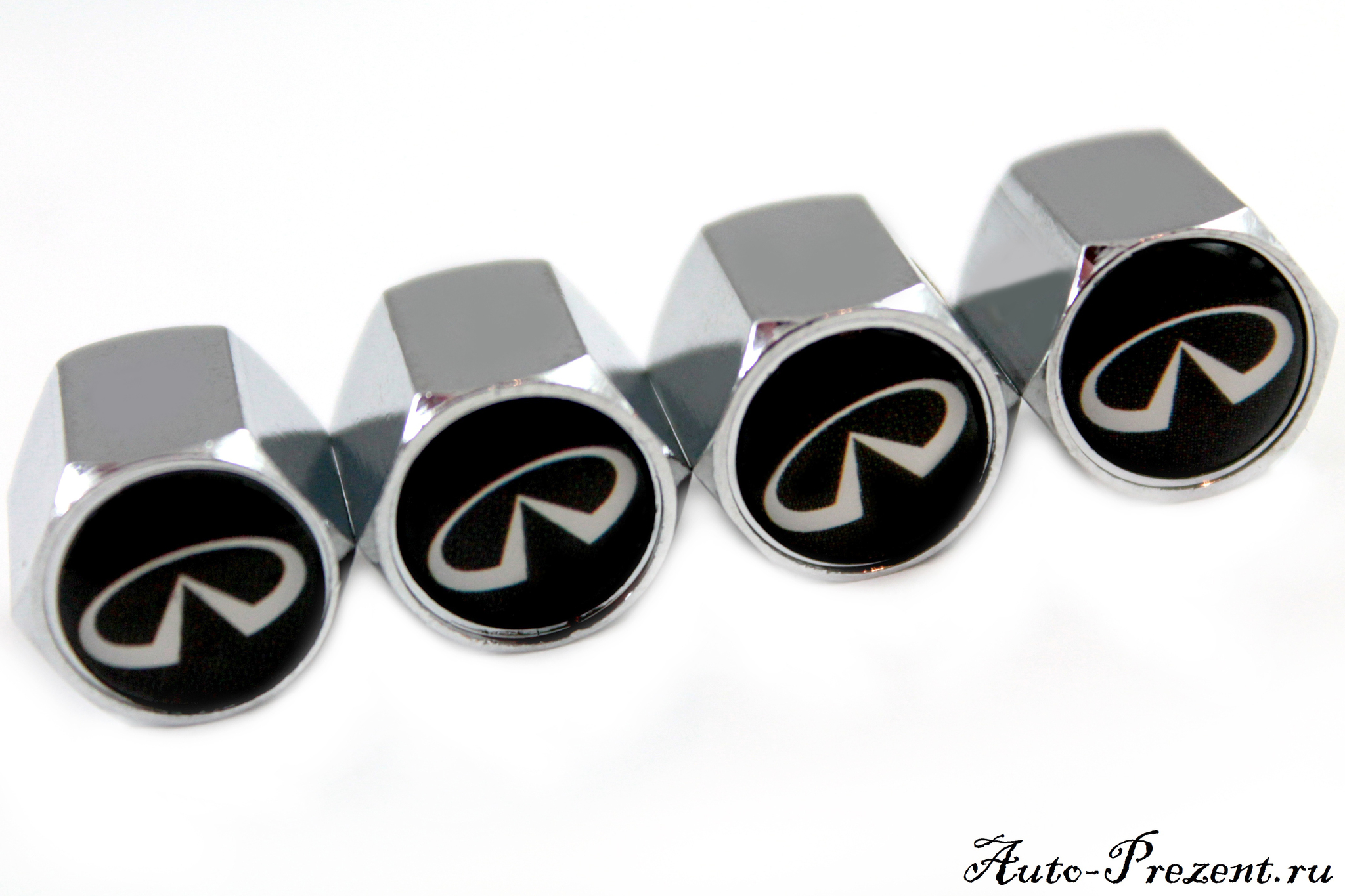 Колпачки на ниппель с логотипом INFINITI