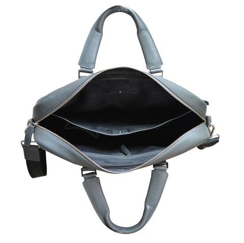 Портфель Cross Nueva FV, серый, 40х17х29 см