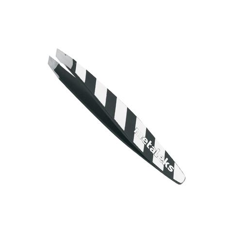 Пинцет для бровей скошенный, 7см, RT-308