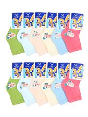 E302 носки детские (12шт), цветные
