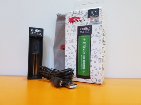 Зарядное устройство IMREN K1 на 1слот USB