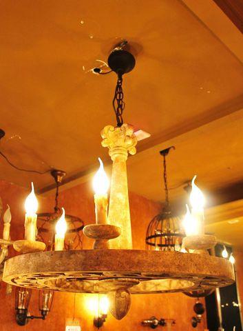 vintage chandelier 50-51 ( by Funky Vintage )