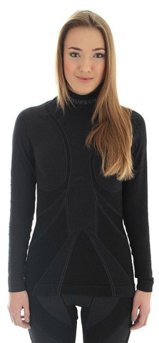 Термобелье рубашка женская Brubeck Extreme Merino (LS10500)
