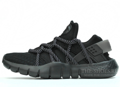 Кроссовки Мужские Nike Air Huarache NM Triple Black