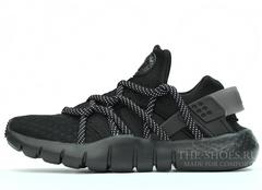 Кроссовки Мужские Nike Air Huarache NM Triple Black