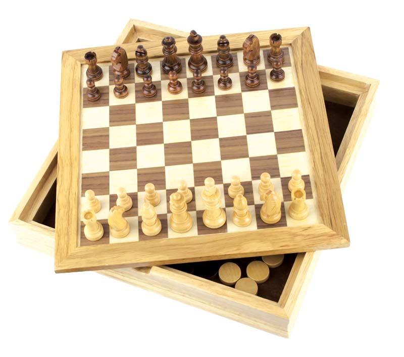Набор игр CRAFTSMAN 2 в 1 шашки и шахматы GF005