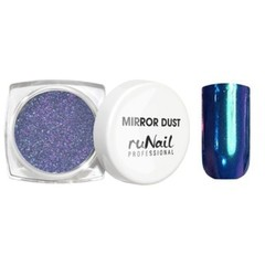 MIRROR DUST зеркальная пыль для втирки с аппликатором цвет СИНИЙ арт(3175)