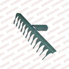 Грабли 12-зубые витые 240мм с узким шагом