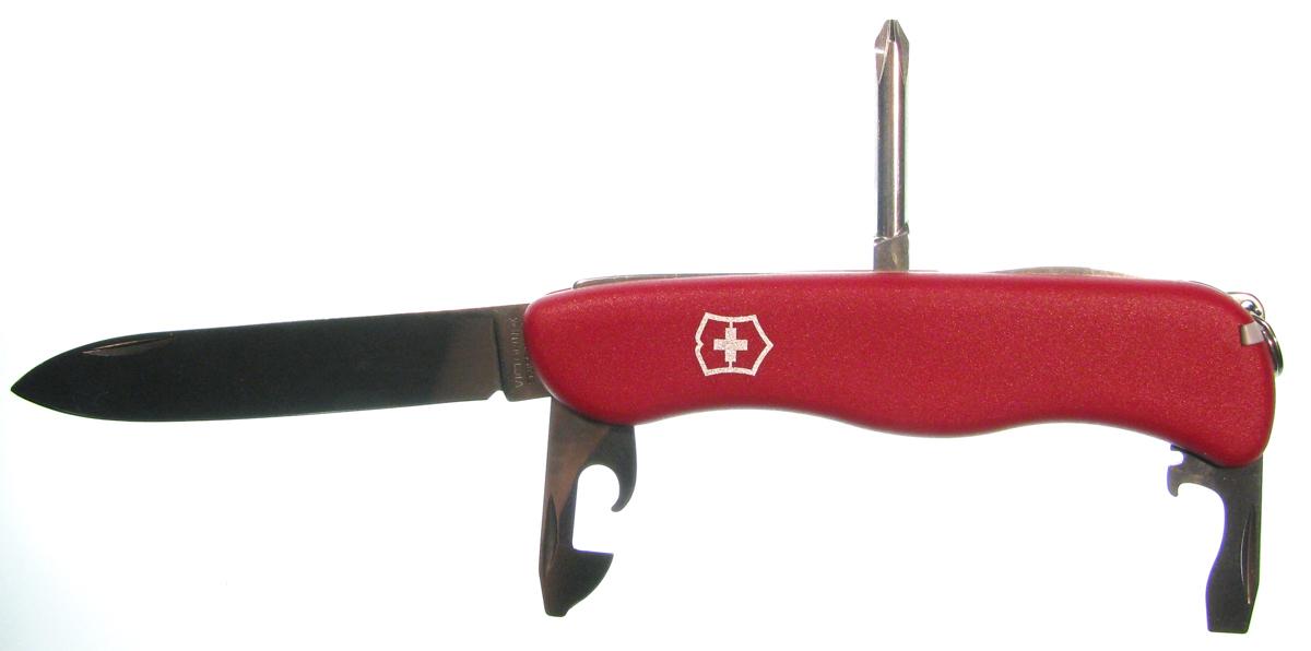 Складной швейцарский нож Victorinox Adventurer (0.8953) - Wenger-Victorinox.Ru