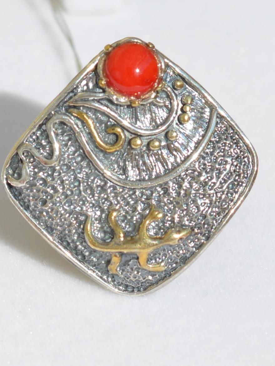 Гаяне  (кольцо из серебра)