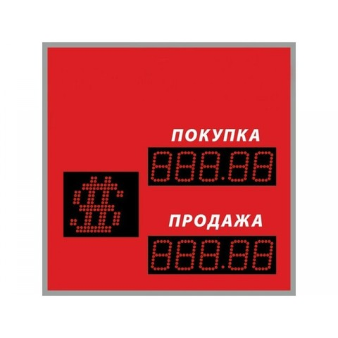 Табло курсов валют DoCash ST-1 409-03 CR
