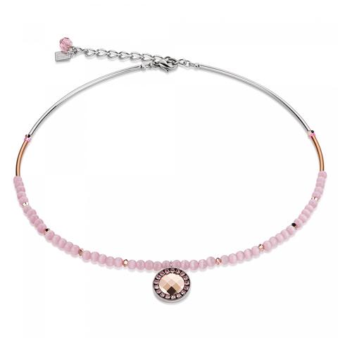 Колье Coeur de Lion 4866/10-1900 цвет розовый