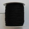 Нейлоновый шнур 0,8 мм (цвет - черный) 120 м
