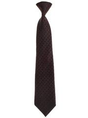 7585-47 галстук черно-бордовый