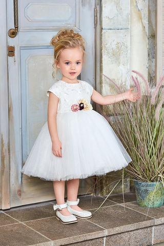 Пышное белое платье (арт.04.15)