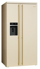 Холодильник Smeg SBS8004P фото