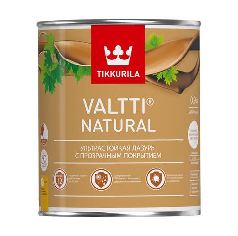 Tikkurila Valtti Natural/Тиккурила Валтти Натурал ультрастойкая лазурь с прозрачным покрытием
