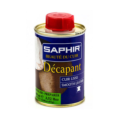 Очиститель перед покраской Saphir Decapant 100мл