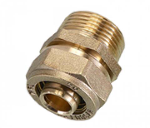 SМ 25*1 FLEXY Соединение (муфта) труба-наружняя резьба (папа)