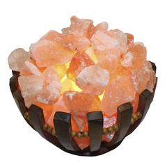 Солевая лампа Абажур Чаша 3 кг