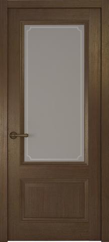 > Экошпон Океан Riva Classica 1, стекло белое, цвет дуб табачный, остекленная