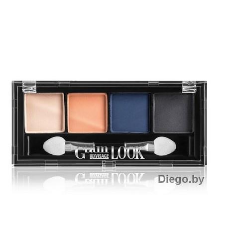 Тени для век матовые  Glam Look (4-х цветные)  тон 03