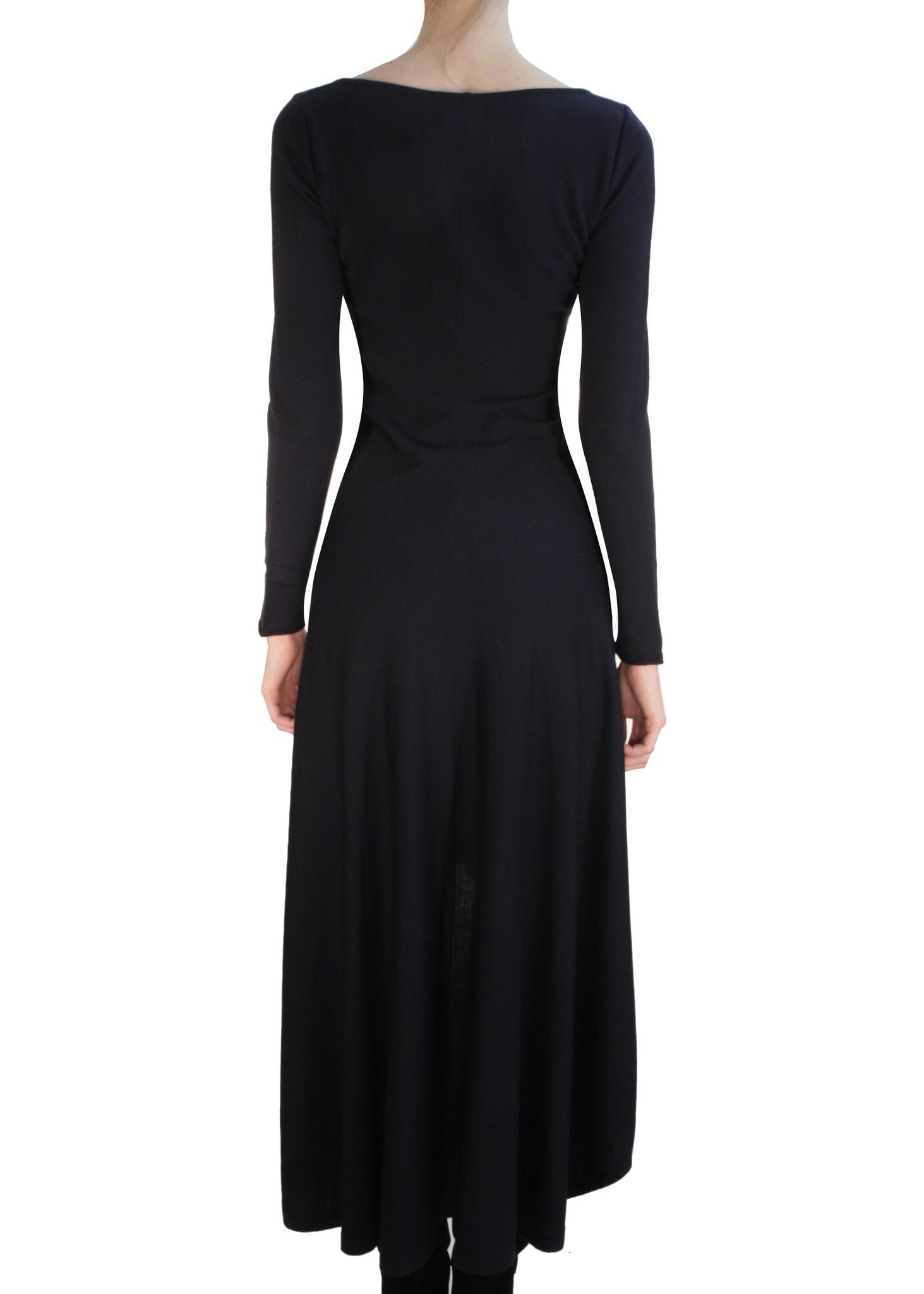 Платье из шерсти D'EXTERIOR