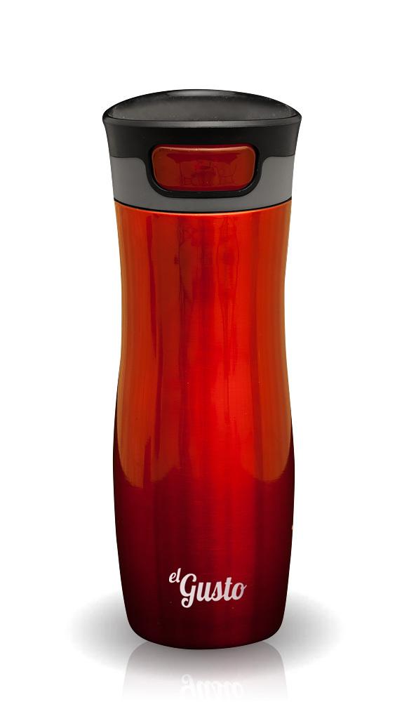 Термокружка El Gusto Berry (0.47 литра) красная