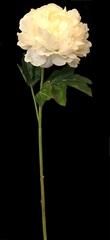 Искусственный цветок 57см Silk-ka пион персиковый
