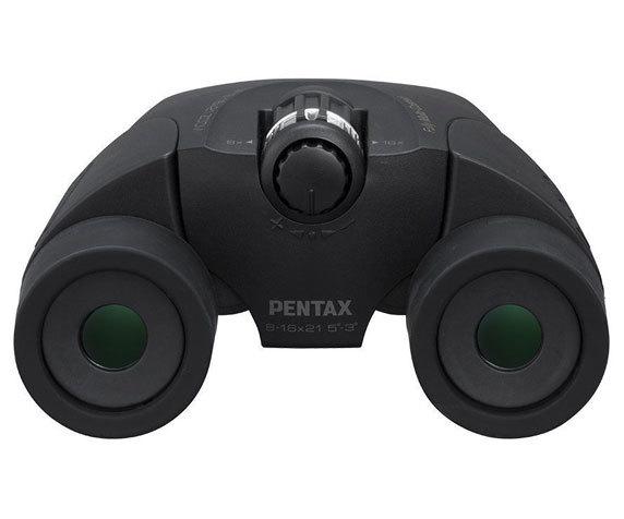 Окуляры бинокля Pentax UP 8 16 21, черный