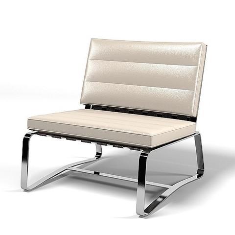 replica delaunay armchair (leather )