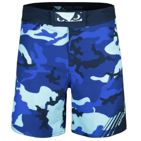Шорты Bad Boy Soldier MMA Shorts - Blue Camo