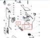 Бункер дозатора моющих средств (ванна) для стиральной машины Indesit (Индезит) - 286088