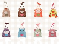 Bag Purse Plush For Girls Kids Set 1