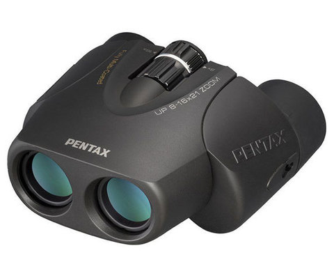 Бинокль Pentax UP 8-16x21 черный