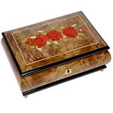 Шкатулка для ювелирных украшений музыкальная, арт. AW-02-074 от Artwood, Италия