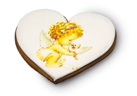 Имбирный пряник сердце