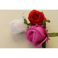Цветок розы 9 см.