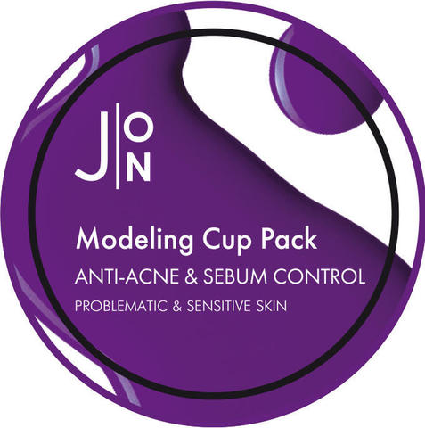 J:ON Альгинатная маска АНТИ-АКНЕ И СЕБУМ КОНТРОЛЬ ANTI-ACNE & SEBUM CONTROL MODELING PACK 18гр