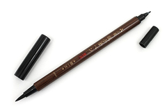 Ручка-кисть Uni Mitsubishi Double-Sided Brush Pen