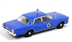 Ford Galaxie 500 1965 City Westwood USA 1:43 DeAgostini World's Police Car #46