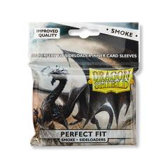 Dragon Shield - Внутренние дымчатые протекторы с боковой загрузкой (perfect fit) 100 штук