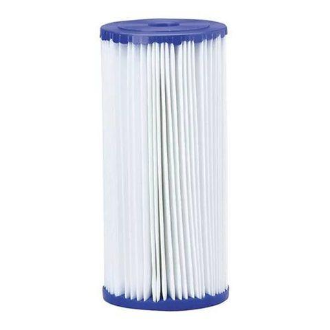 Картридж для механической очистки воды многоразового использования, Пористость 20 мкр., Типоразмер 20ВВ, Изготовлен из гофрированного полипропилена.