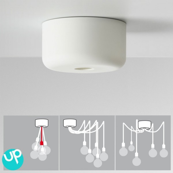 Muuto e27 by mattias stahlbom white 2 for Ampoule suspension