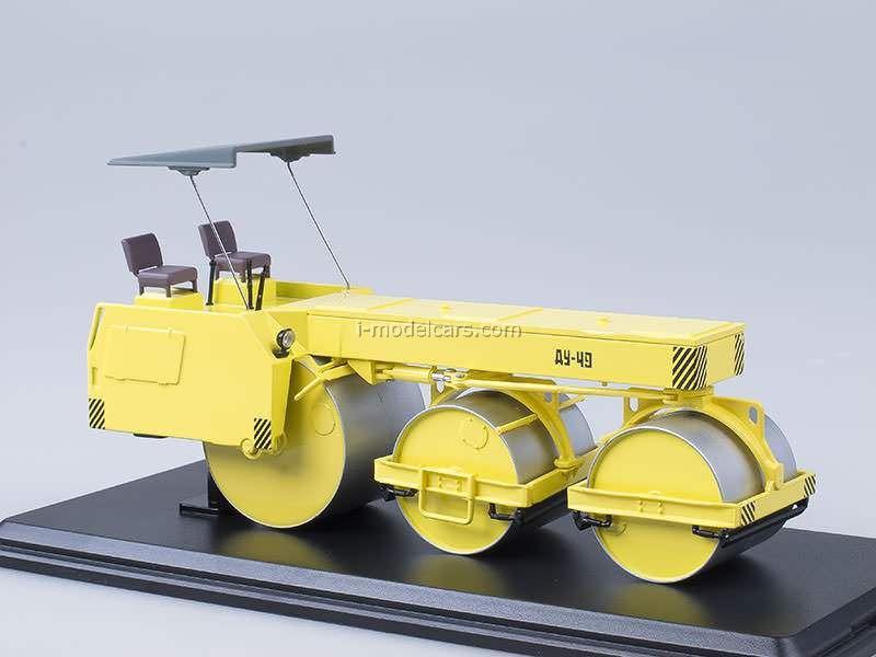 Road Roller DU-49 Start Scale Models (SSM) 1:43